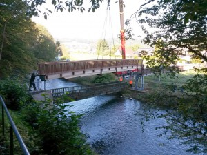 Baustelle Brücke