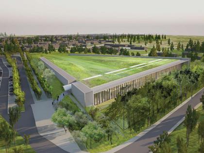 smartex mx überwacht 15.000 m² großes Gründach des neuen Louvre Restaurationszentrums